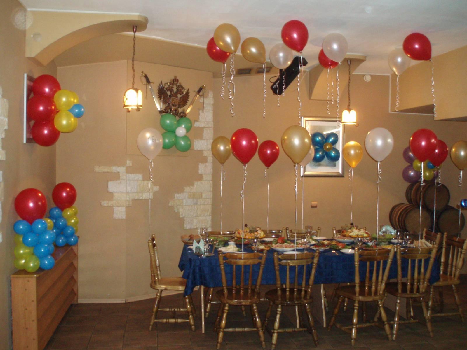 Украшение помещения ко дню рождения 30 лет девушке фото
